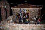 Η Παναγία της Μόσνας το βράδυ του Πανηγυριού