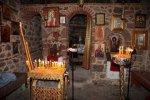 Το εσωτερικό της Παναγίας της Μόσνας