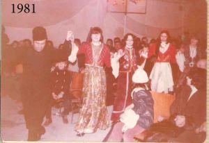 """Το χορευτικό τμήμα του Συλλόγου στην θεατρική παράσταση """"Ο Ματωμένος Γάμος"""" του Λόρκα"""