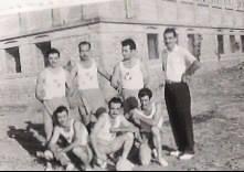 Η ομάδα βόλεϊ του Διαγόρα τη δεκαετία του 1950