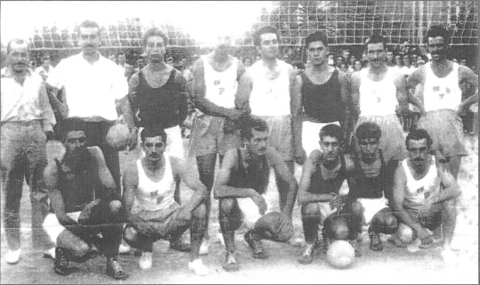 Volley Διαγόρα 1954
